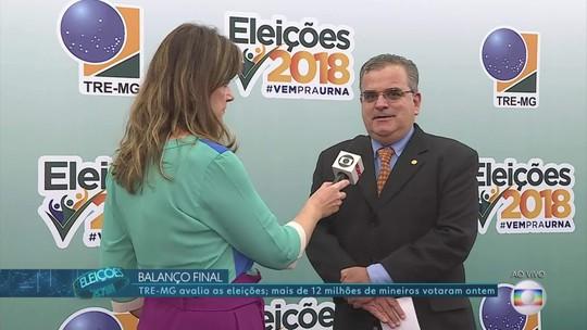 'Rapidez e tranquilidade': vice-presidente do TRE-MG avalia segundo turno no estado