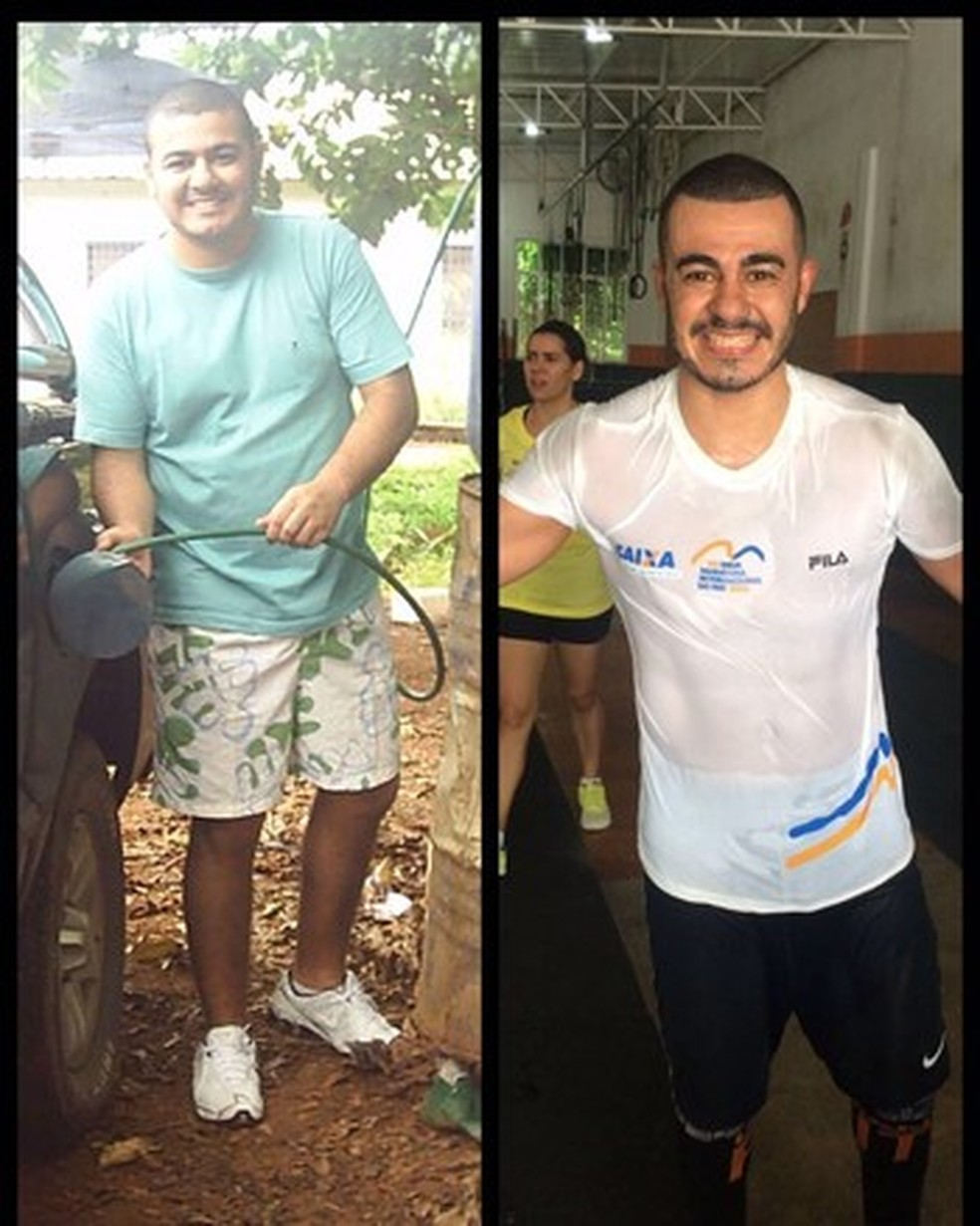 Além da transformação física, depois de um pré-infarto, quando passou dos 115kg para os 73kg, com caminhadas, reeducação alimentar e Crossfit (Foto: Arquivo pessoal)