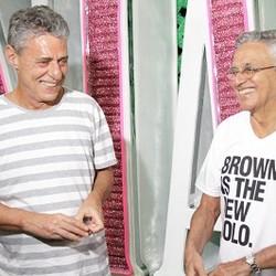 Chico Buaque e Caetano Veloso