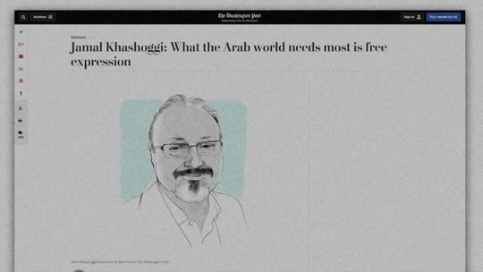 'The Washington Post' publica última coluna de jornalista saudita desaparecido