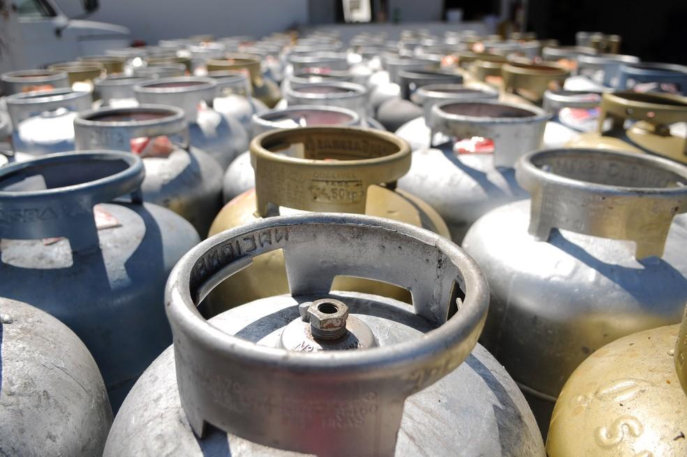 Gás de cozinha teve aumetno de 12,2% em todo país a partir da madrugada desta quarta (6) (Foto: Pedro ventura/Agência Brasília)