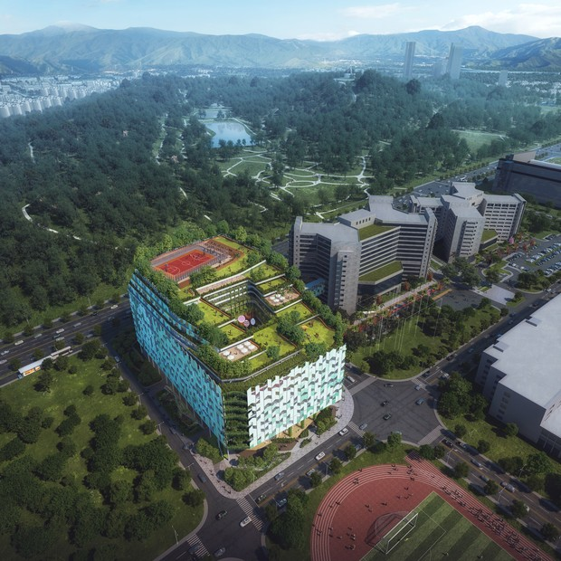 10 construções na China que parecem ter saído de um filme de ficção científica (Foto: Divulgação)