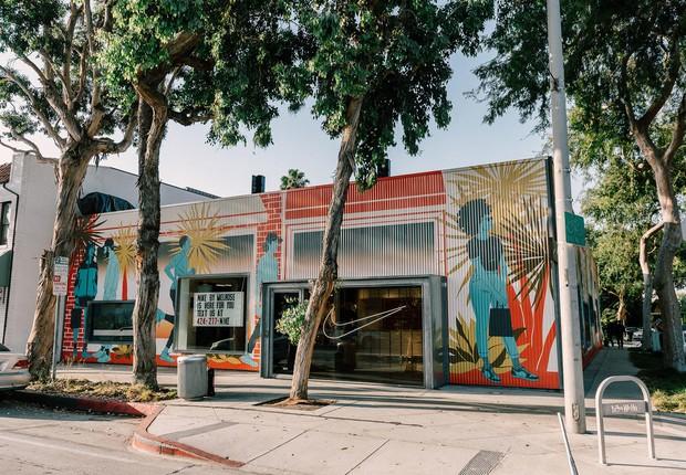 Nova loja da Nike em Los Angeles é considerada um marco da nova estratégia da empresa em relação a estoque e distribuição de produtos (Foto: Divulgação/Nike)