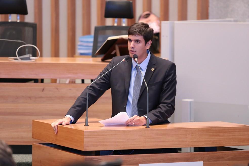 Na foto, o presidente da Câmara Legislativa do DF, deputado distrital Rafael Prudente (MDB) — Foto: Câmara Legislativa/Divulgação