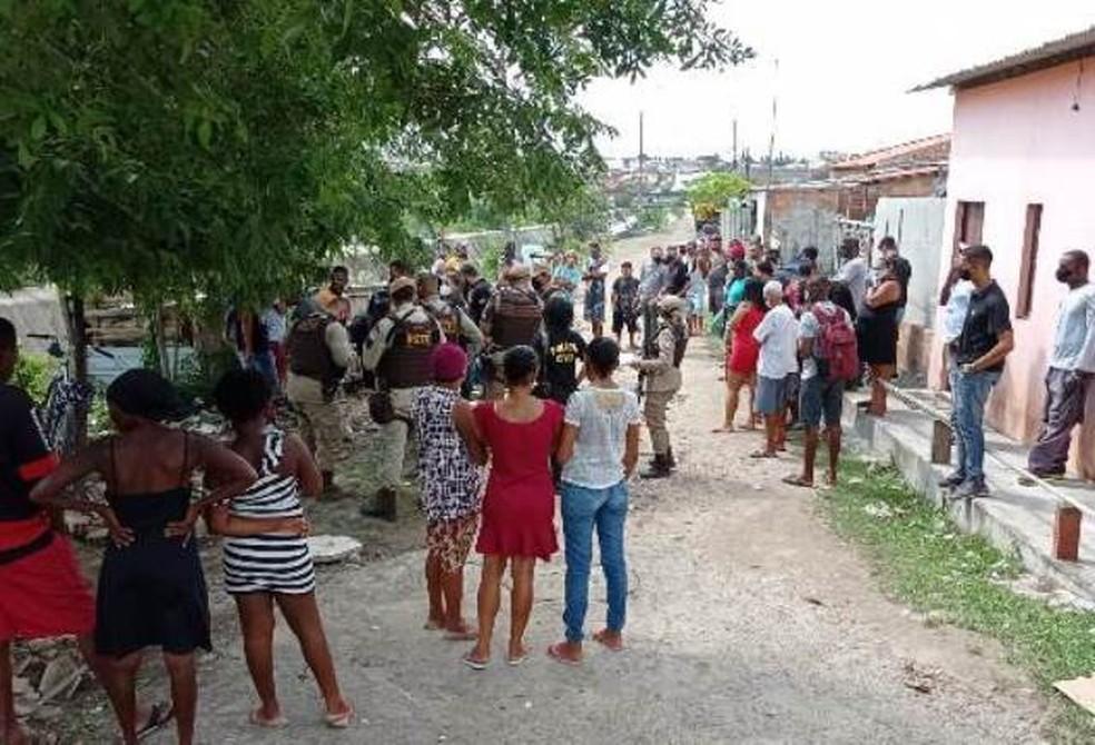 Linchamentos ocorreram em Feira de Santana — Foto: Ed Santos/Acorda Cidade