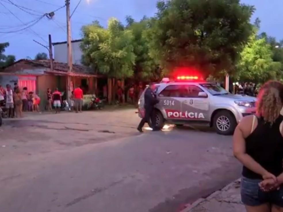 Criança foi baleada duas vezes por bala perdida em dois anos (Foto: TV Verdes Mares/Reprodução)