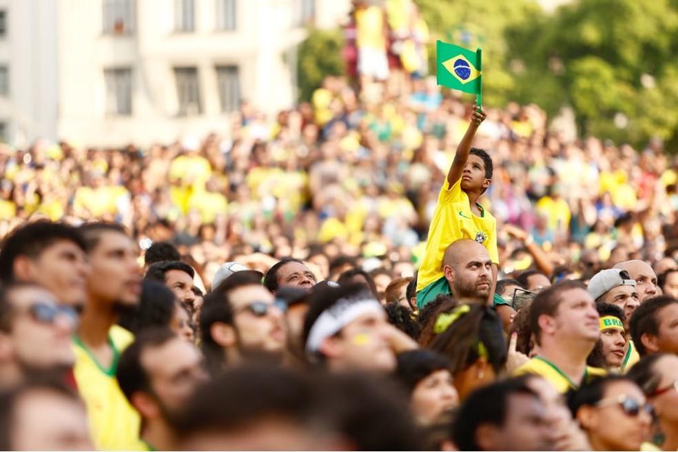 Em 2018 Brasil chegou à marca de 208,5 milhões de habitantes; expectativa é de que chegue 233 milhões em 2047, quando começará a diminuir (Foto: Marcos Serra Lima/G1)