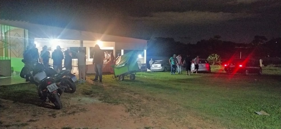 Evento ocorreu nesse sábado (29) em uma chácara na Estrada de Porto Acre — Foto: Arquivo/PM-AC