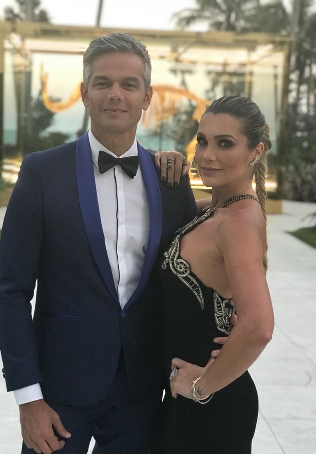 Flavia Alessandra e Otaviano Costa (Foto: Divulgação)