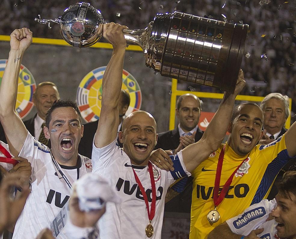 Corinthians conquistou a Copa Libertadores de 2012 (Foto: Daniel Augusto Jr)