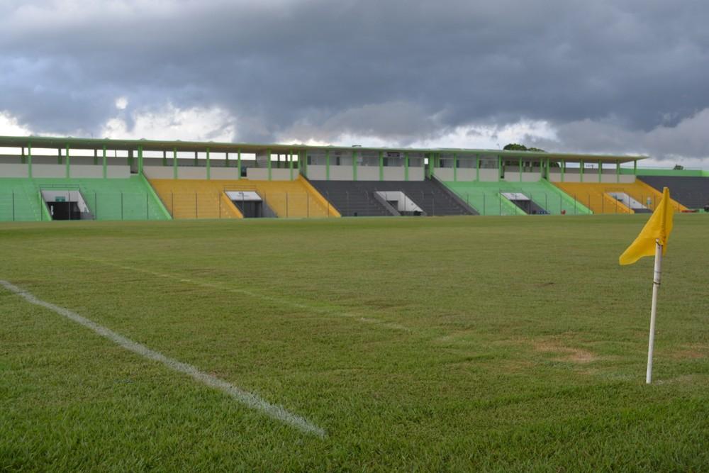 Estádio Aluízio Ferreira em Porto Velho será o palco para amistoso entre a Seleção Brasileira e o Peru  (Foto: Jheniffer Núbia)
