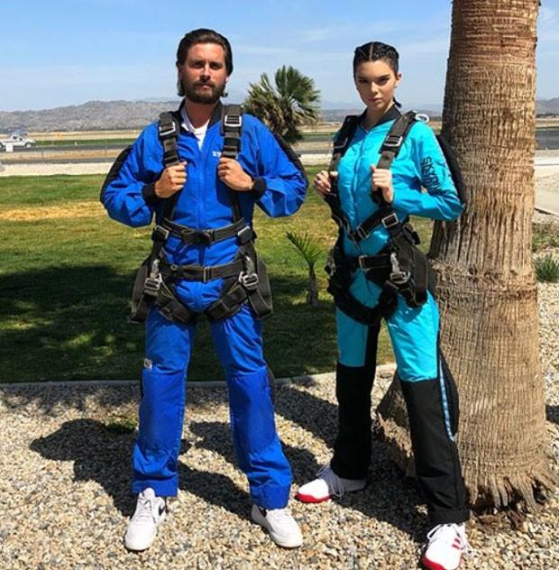 Kendall e Scott (Foto: Reprodução)