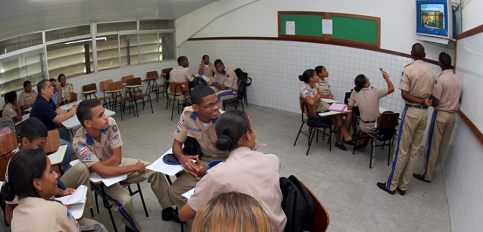 Vagas do Colégio da Polícia Militar são distribuídas em 14 unidades no estado (Foto: Divulgação)