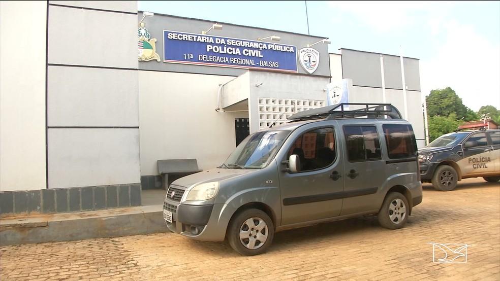 Veículo utilizado pelo motorista não tinha autorização para realização de transporte escolar.  — Foto: Reprodução/ TV Mirante