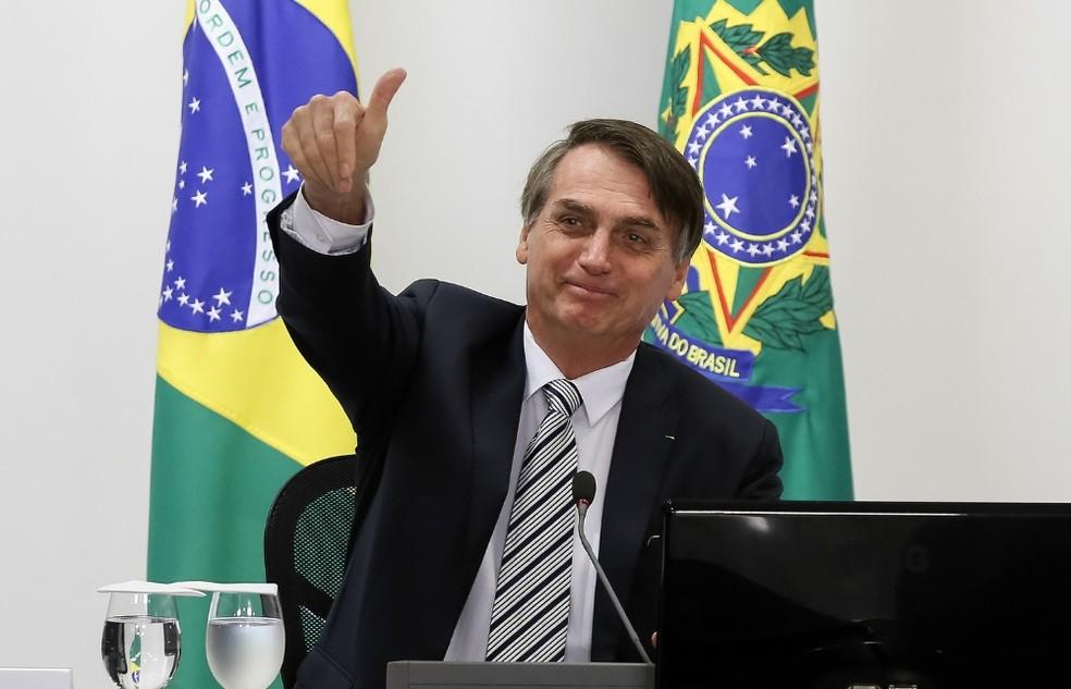 O presidente Jair Bolsonaro — Foto: Marcos Corrêa/PR