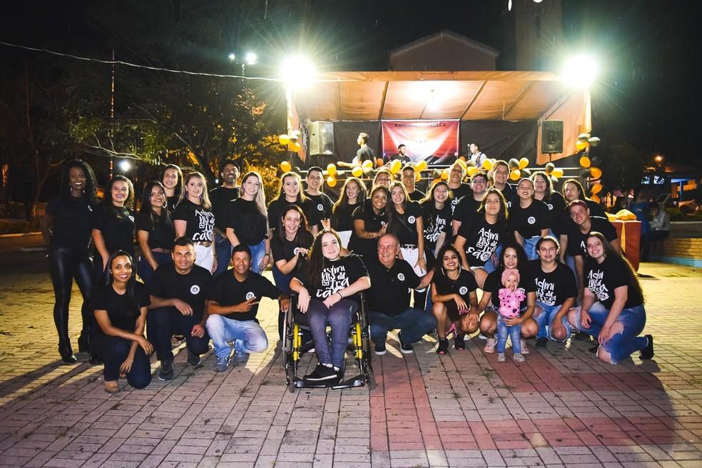 Trabalho da Etec em Anhembi pedia ação social e alunos se mobilizaram para presentear amiga — Foto: Morato Fotografia/Divulgação