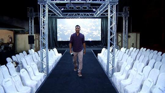 'Plugue' mostrou a preparação de jovens que sonham com o mundo da moda