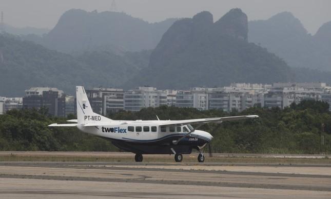 Aeronave Cessna Gran Caravan, modelo bastante usado pelas empress de táxi aéreo