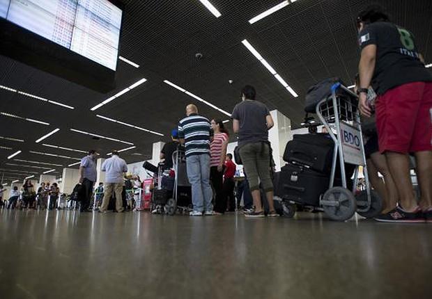 Aeroporto ; viagem ; aviação ; novas regras da Anac ; malas ; bagagem ; passagens aéreas ; passageiros ; (Foto: José Cruz/Agência Brasil)