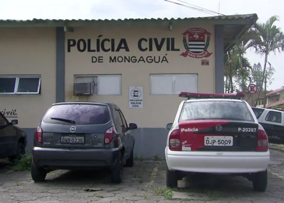 Delegacia de Mongaguá, SP (Foto: G1 )