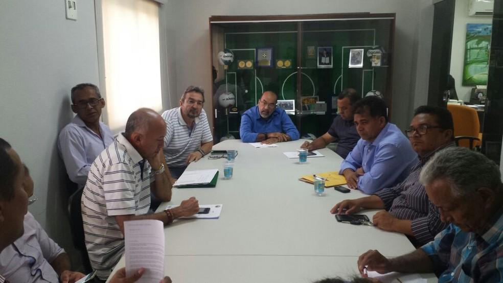 Reunião na FFP selou o preço dos ingressos (Foto: Samilla Milhomem / FFP)