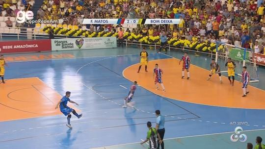 Maikon marca dois, F. Matos vence Bom Deixa e é campeão da Copa Rede Amazônica