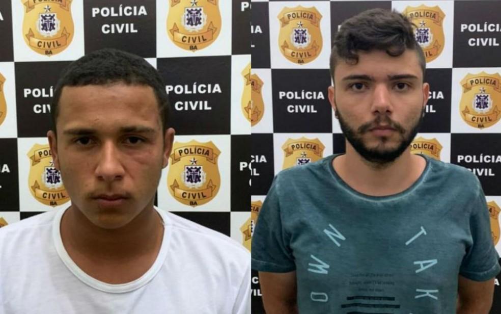 Suspeitos de matar jovem que trabalhava como motorista de app são presos na BA — Foto: Divulgação/Polícia Civil