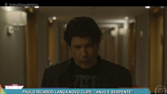 Paulo Ricardo lança clipe com Barbara França no 'Vídeo Show'
