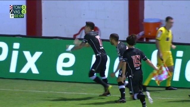 Vasco está classificado à terceira fase da Copa do Brasil
