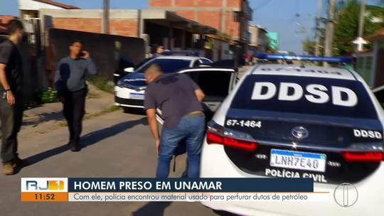 Operação contra furto de combustível é realizada no interior do Rio e no Paraná