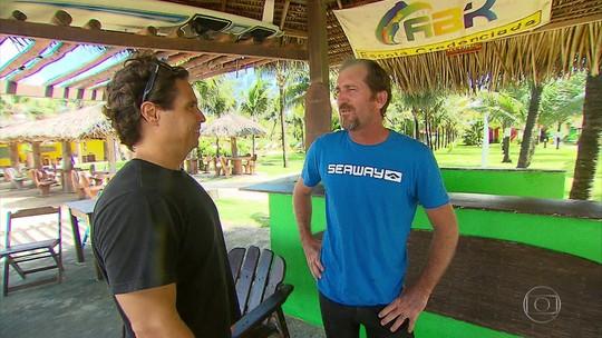 """Missão Surfe: Eduardo """"Rato"""" Fernandes dá a letra quando assunto é hidrofoil"""