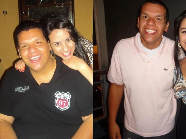 Rafael acostumou com a nova vida e diz que não consegue mais viver sem fazer exercício físico (Foto: Arquivo pessoal)