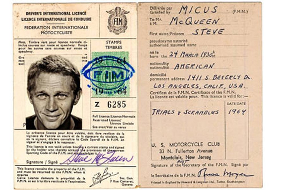 Steve McQueen — Foto: Reprodução