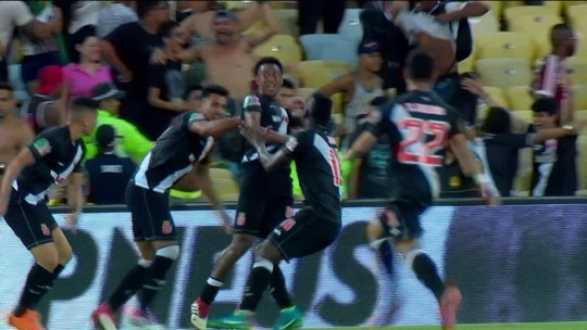 Cartolouco cobre virada do Vasco sobre o Flu e classificação para a final do Carioca