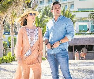 Rafael Cardoso e Guilhermina Guinle em cena de 'Salve-se quem puder' | TV Globo/João Miguel Júnior