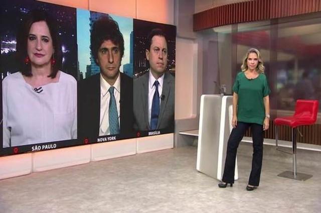 Programa da GloboNews (Foto: Reprodução)