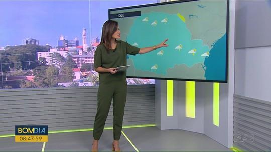 Sábado terá mudança no tempo no Paraná