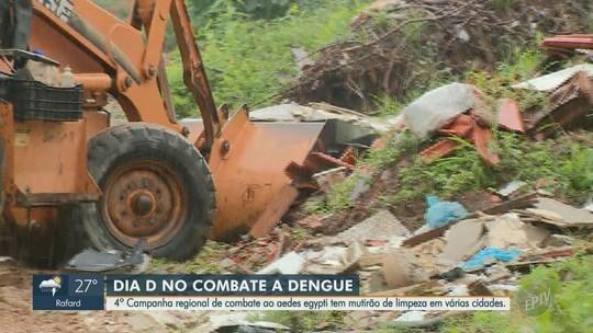 4ª edição do Mutirão de Combate ao Aedes Aaegypti movimenta cidades da região