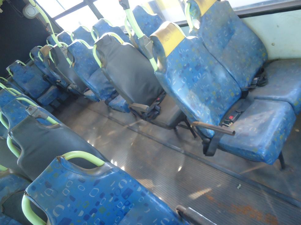 Irregularidades também foram encontradas em cintos de segurança (Foto: Ciretran/Divulgação)