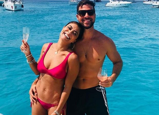Juliana Paes e o marido, Carlos eduardo Baptista (Foto: Reprodução/Instagram)