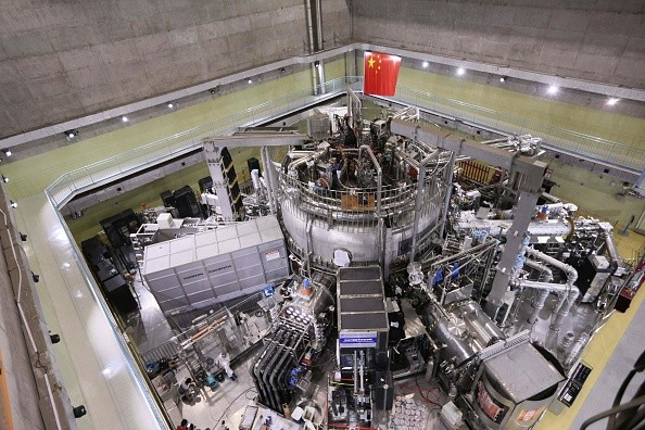 Experimental Advanced Superconducting Tokamak, em Hefei, na China (Foto: Ye Hualong/China News Service/VCG/ Getty Images)