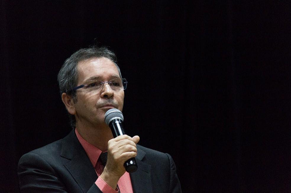Mauro Luiz Rabelo assume a Secretaria de Educação Básica do MEC — Foto: Mariana Costa/Secom UnB