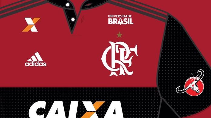 36cd4aa086 Flamengo fecha patrocínio que renderá mais de R  2 milhões até o fim do ano