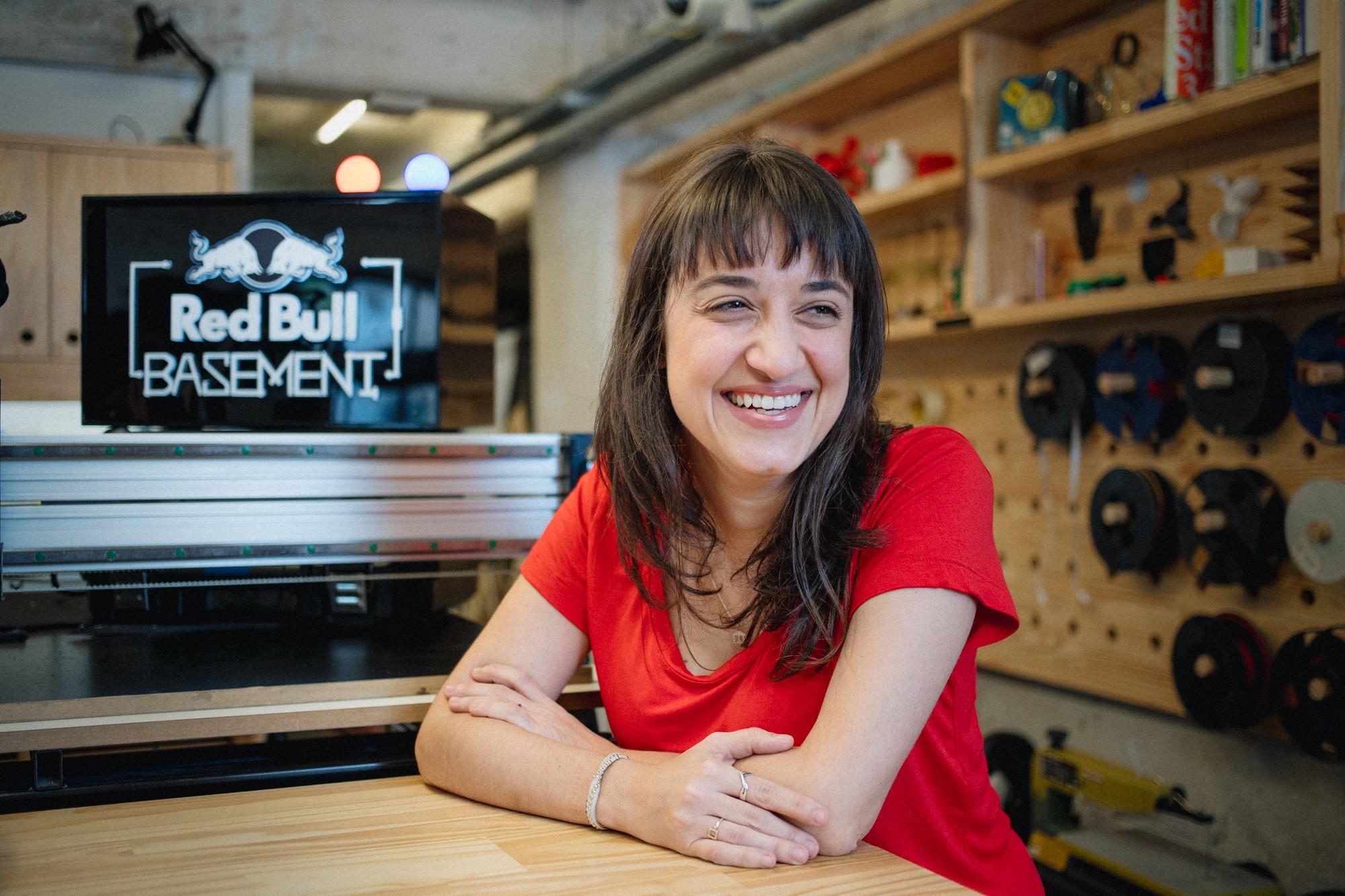 Gabriela Agustini,  curadora do Red Bull Basement (Foto: Felipe Gabriel)