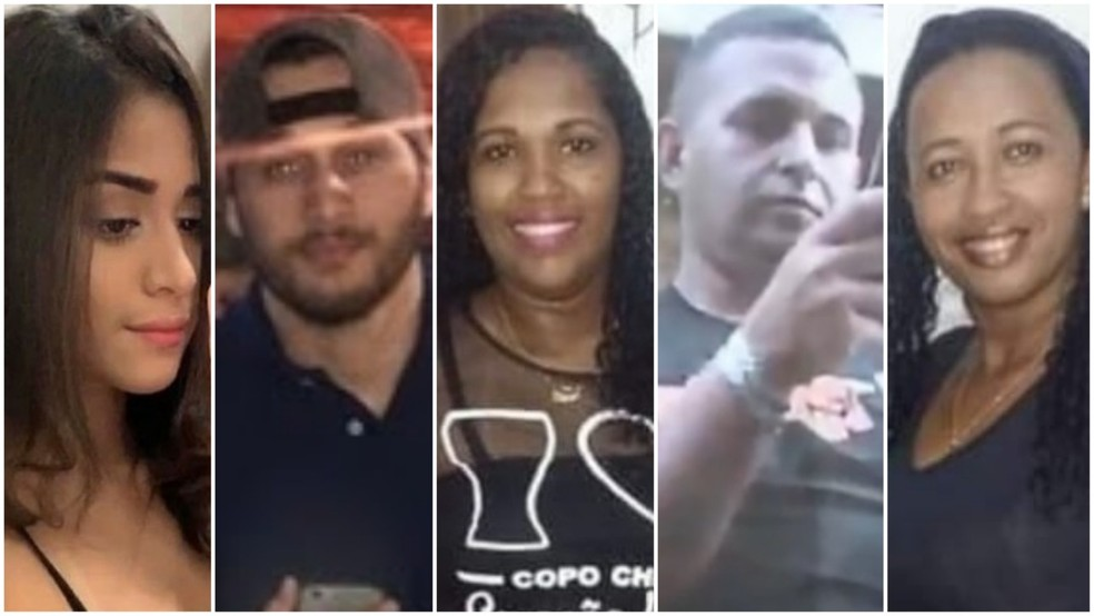 Cinco pessoas morreram por conta do acidente na Avenida Carlos Cunha no bairro Jaracaty, em São Luís (MA) — Foto: Reprodução/TV Mirante/Rafael Cardoso/G1 MA