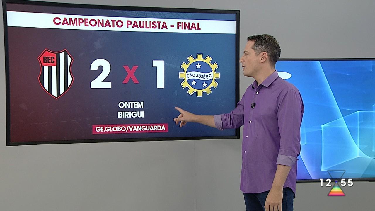 São José perde de 2 a 1 para o Bandeirante no 1° jogo da final da Segundona