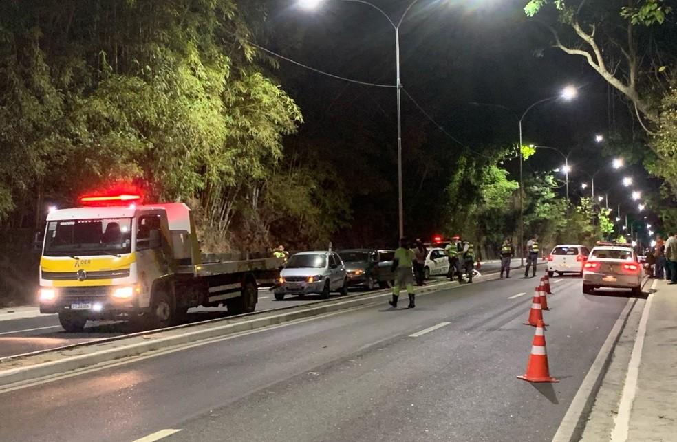 Homem morreu após cair de moto em Taubaté — Foto: Reprodução/Quiririm News