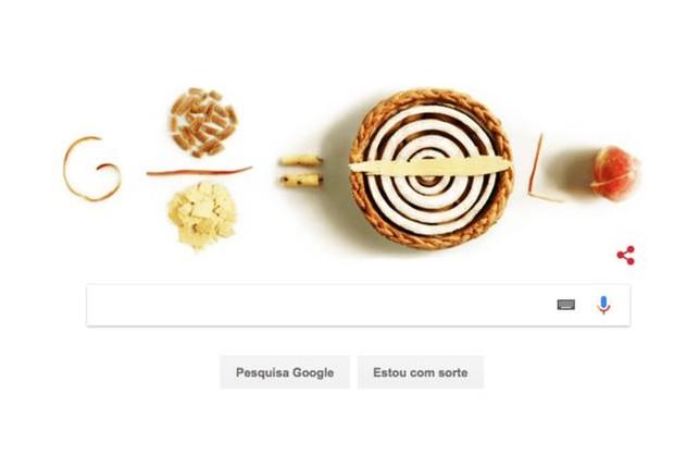 Doodle homenageia o Dia do Pi  (Foto: Reprodução/Google)