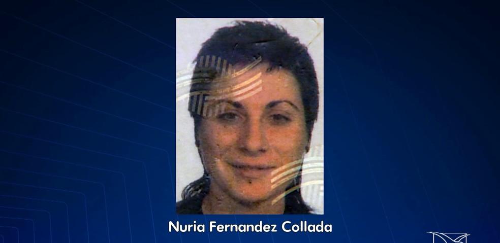 Corpo da turista espanhola Núria Fernandes Collada foi achado com sinais de espancamento em Alcântara (Foto: Reprodução/TV Mirante)