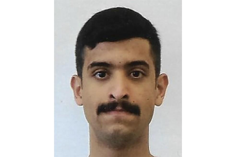 Foto divulgada pelo FBI de Mohammed Alshamrani, o saudita que abriu fogo na base naval de Pensacola, na Flórida, nos EUA, nesta sexta (6) — Foto: FBI via AFP